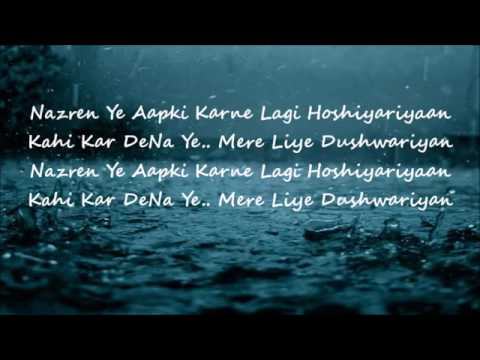 Mera Sanam Hum Deewane Hain Aapke official lyrics video