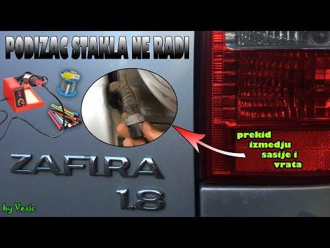 Kako popraviti podizac stakla Opel Zafira