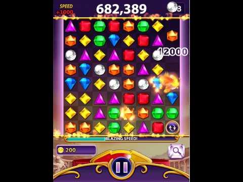 Bejeweled Blitz KR1 on iPad  1,669,400