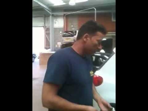 2012 volkwagen tiguan how to remove door handle by samson - YouTube
