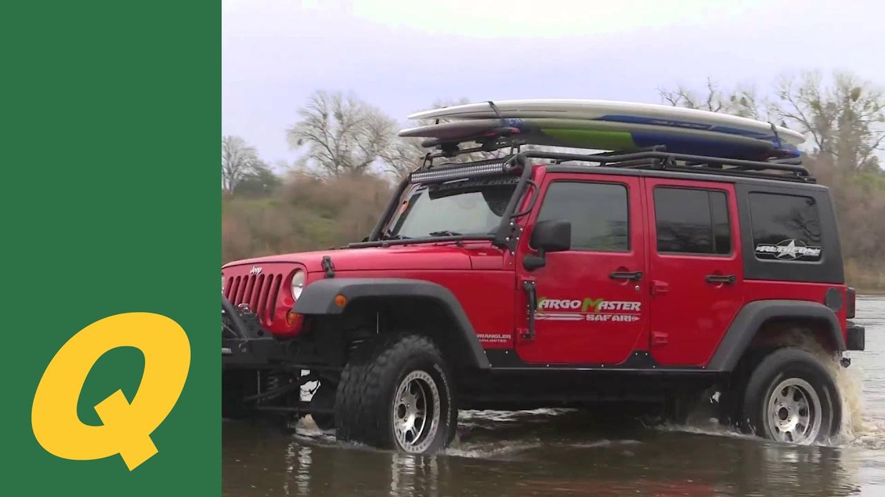 Kargo Master Lo-Pro Roof Rack System for Jeep Wrangler JK ...