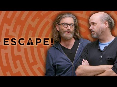 Spy Central: Jessica Chobot, Timothy Omundson, James Roday, & Scott Adsit (Escape! w/ Janet Varney)