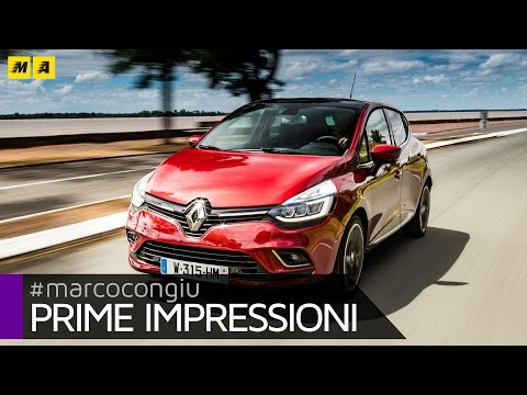 Renault Clio restyling 2016 | Primo Test [ENGLISH SUB]