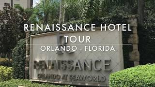 Renaissance Hotel Room - Junior Suite - Tour near SeaWorld Orlando Florida