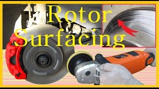 Brake Rotor surfacing