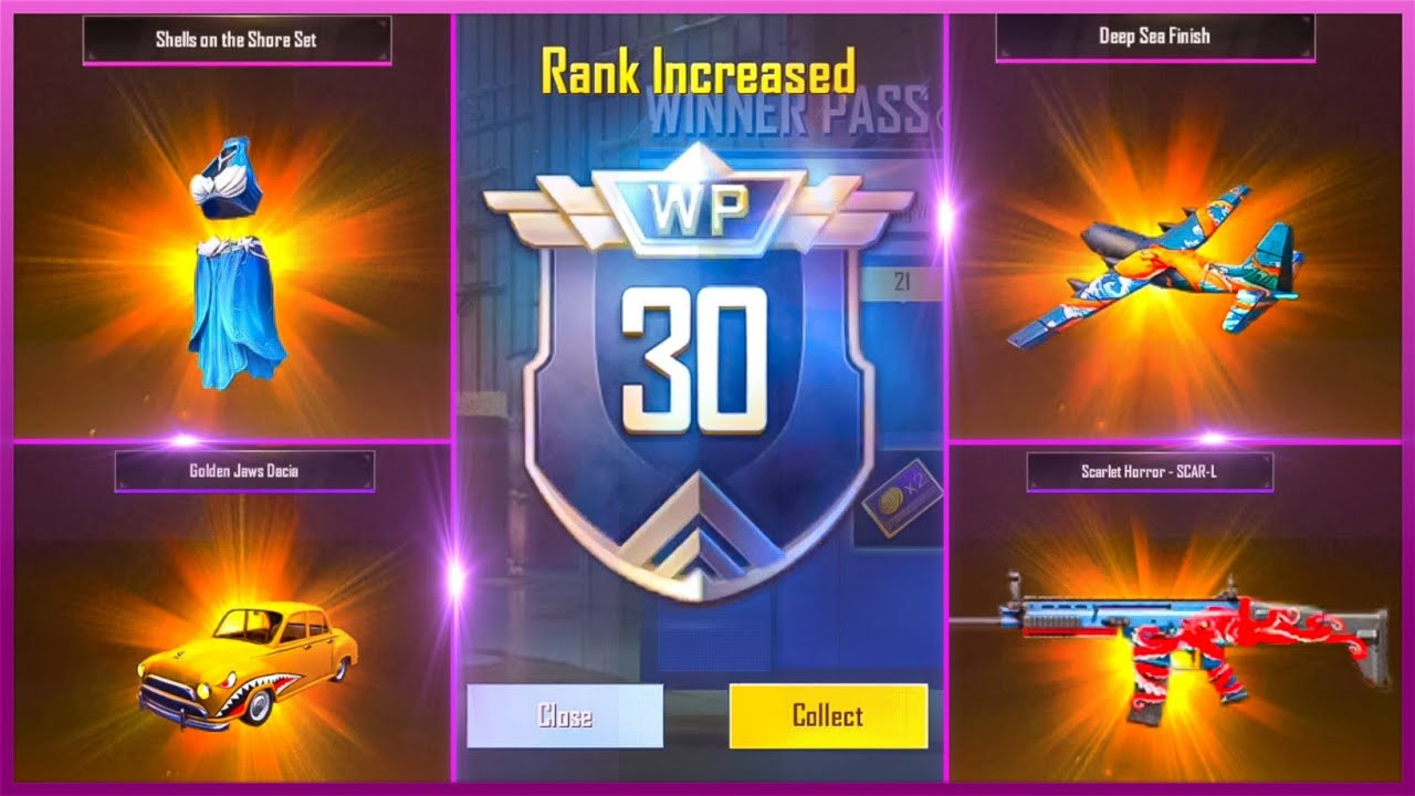 PUBG Mobile lite Season 14 Winner Pass Full 30 WP Max Out | 3x WP Giveaway | Pubg lite New Season