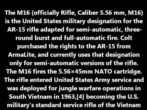 Wiki Guns: M16