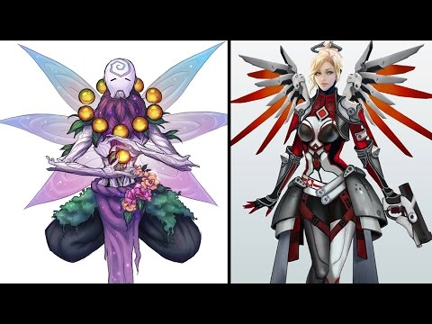 Top 10 New Skin Concepts! - Overwatch