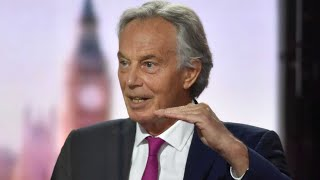video: Tony Blair calls for vaccinated people to be released from lockdown restrictions