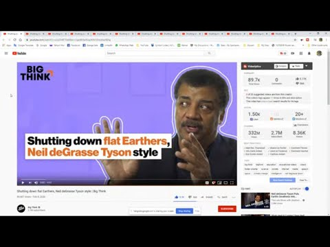 Flat Earthers Trolling Dr Tyson thumbnail