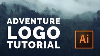 How to Design an Outdoor Adventure Logo | Vintage Logo Design Tutorial