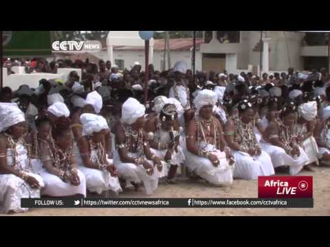 Voodoo worshipers attend annual Epe Ekpe Festival