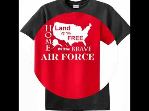 US Army, US Marine, US Navy, US Air Force Limited Edition T-shirts