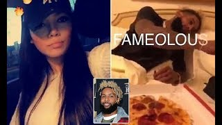 Laura Cuenca identified as woman in Odell Beckham Jr drugs video