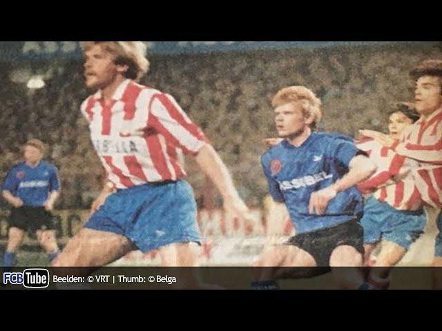 1991-1992 - UEFA-Cup - 06. Kwartfinale - Club Brugge - Atletico Madrid 2-1