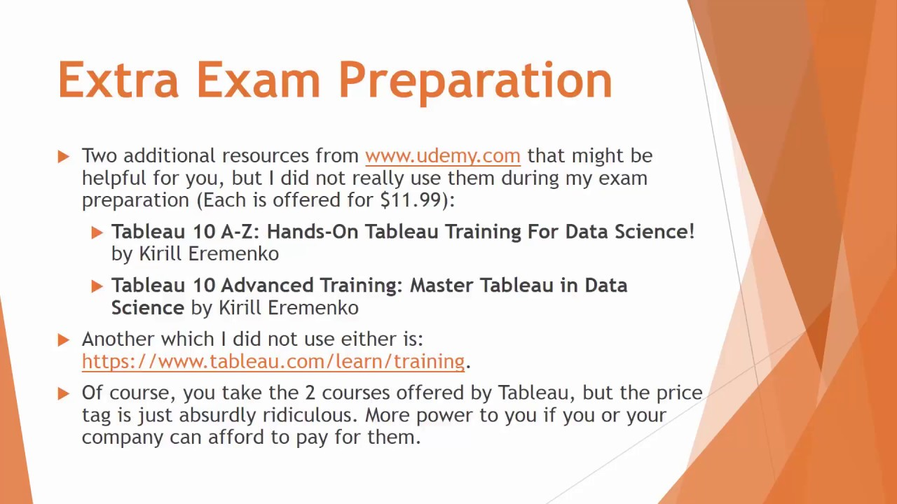 How to Pass the Tableau Desktop Qualified Associate Certification Exam  [HD]