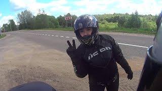 Путешествие на мотоцикле: Кострома-Мышкин-Ростов-Кострома