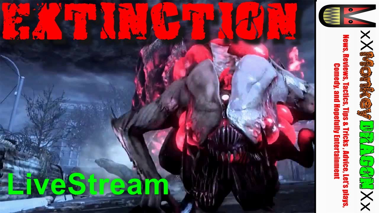 Call of duty Ghost Multiplayer Extinction Gameplay Live ...