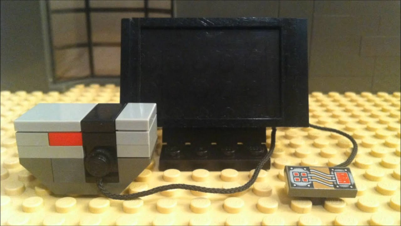 how to build a lego tv in stop motion lego moc brickqueen youtube. Black Bedroom Furniture Sets. Home Design Ideas