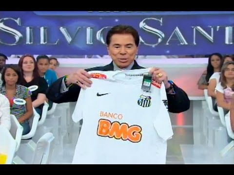 Silvio Santos agradece presente do Santos FC