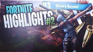 Sick Snipes! - Fortnite Battle Royale Highlights #2