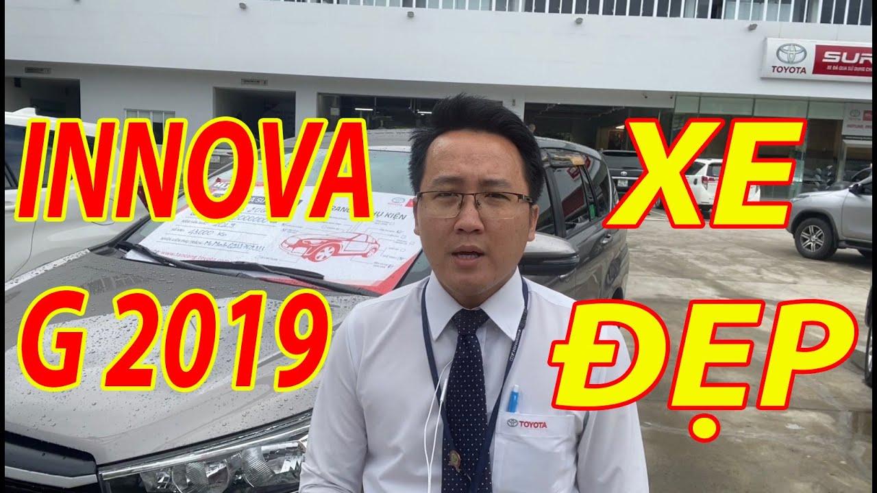 Bán Innova G 2019 cũ số tự động đi 43.000km xe cá nhân giá tốt