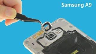 Samsung Galaxy A9(2016) Broken Camera Lens Repair Guide