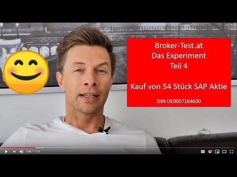 6.500 € in SAP Aktien investiert 💶 Das Experiment Teil 5 - Broker-Test.at
