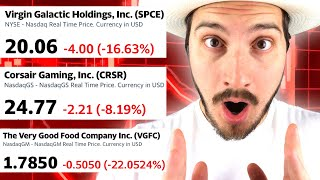 3 stocks crashing - doİng this next