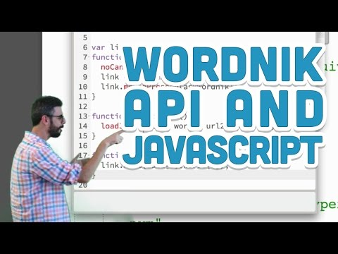 10.8: Wordnik API And JavaScript - P5.js Tutorial