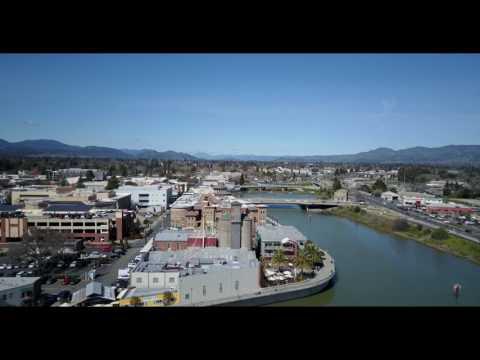 Napa River Drone View