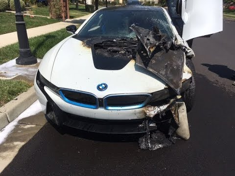 We Survived A Bmw Fire I8 Youtube