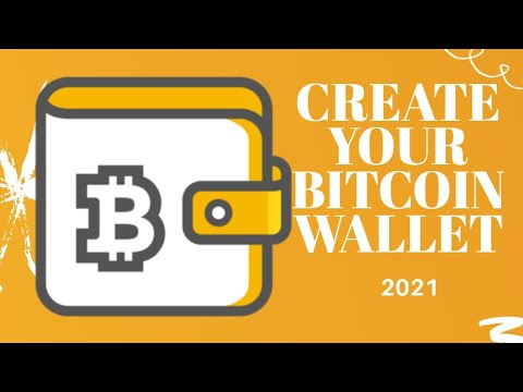 How To Create A Bitcoin Wallet For Free In 2021