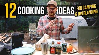 My Top 12 Cąmp Dinner Ideas, Simple to Elaborate