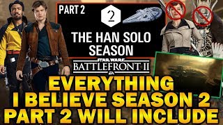 EVERYTHING I BELIEVE SEASON 2 PART 2 WILL INCLUDE! Star Wars Battlefront 2