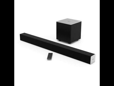 Review Of Vizio Sb3821 C6 38 Inch 2 1 Channel Sound Bar With Wireless Subwoofer 1080p