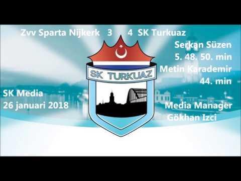 Zvv Sparta Nijkerk   SK Turkuaz  3-4