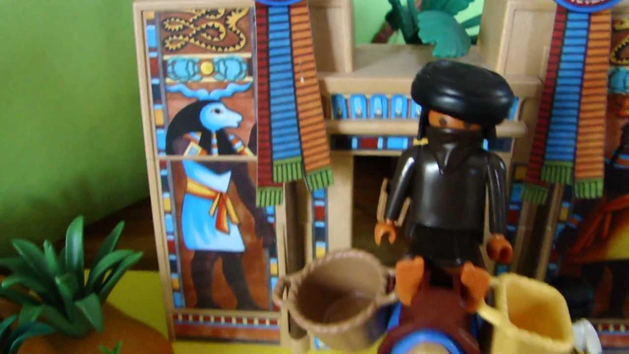 Playmobil l 39 egypte des pharaons youtube - Egypte playmobil ...