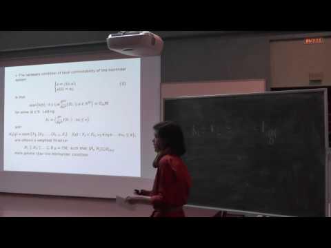 GACT 2016: Svetlana Selivanova - Geometry of nonregular weighted CC spaces and applications
