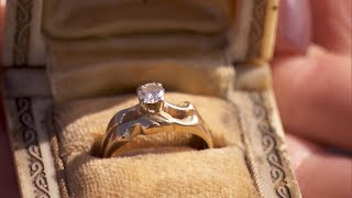 Firefighter Returns Ring Found After House Burned Down