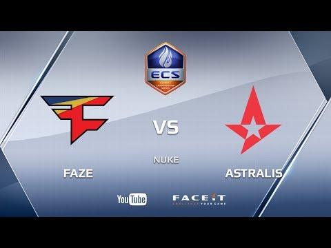 FaZe vs Astralis, Nuke, ECS S3 Europe
