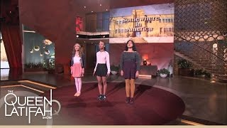 Changing the World, One Word at a Time! | The Queen Latifah Show(Belissa Escobedo, Rhiannon McGavin, and Zariya Allen, members of the Get Lit organization perform