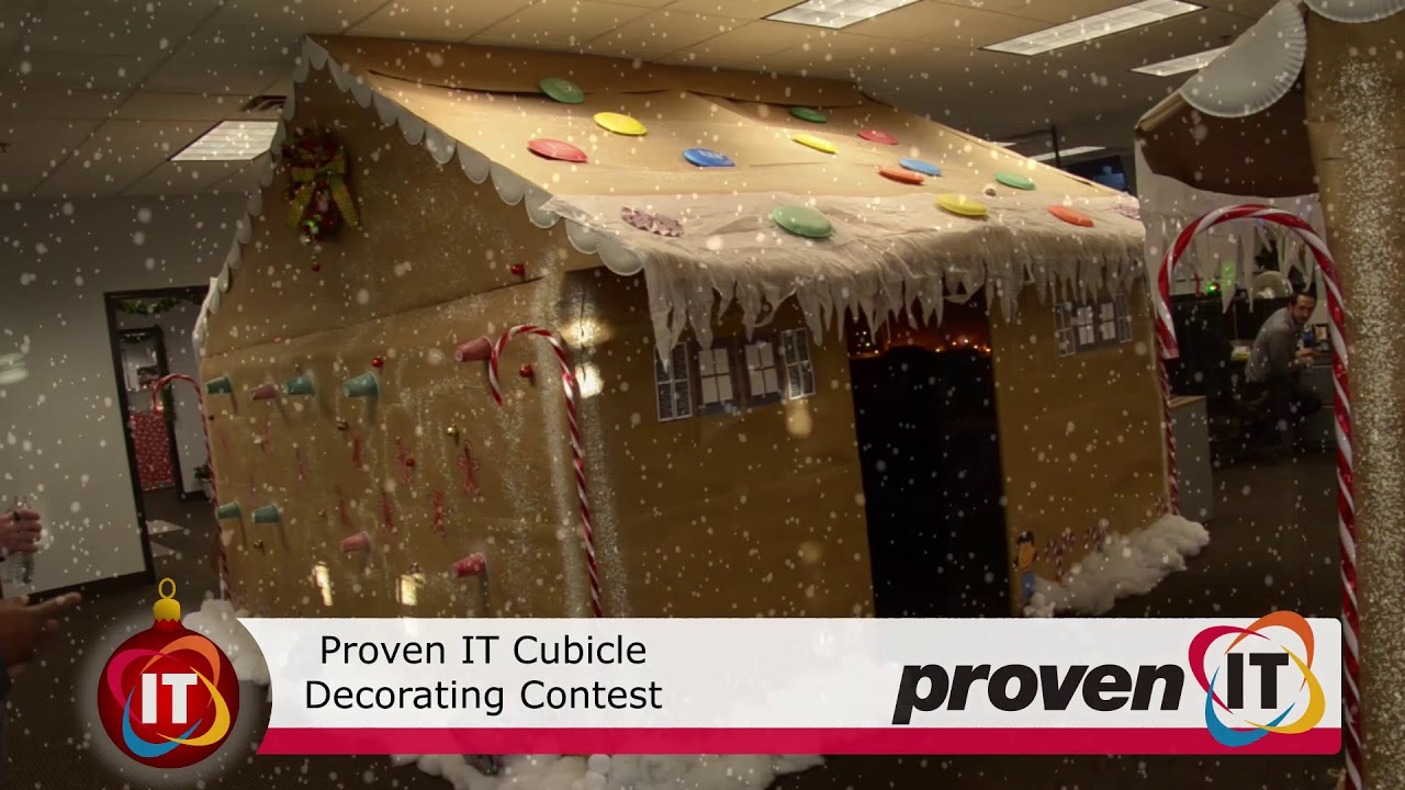 2017 Holiday Cubicle Decorating Contest