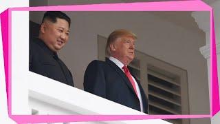 [Schock] | +++ Newsblog zum USA-Nordkorea-Gipfel +++: Trump und Kim gehen zum Arbeitsessen - SPIEGEL