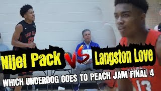 Which Underdog Squad Advances to The Peach Jam FINAL 4 | INDY HEAT VS HOUSTON HOOPS