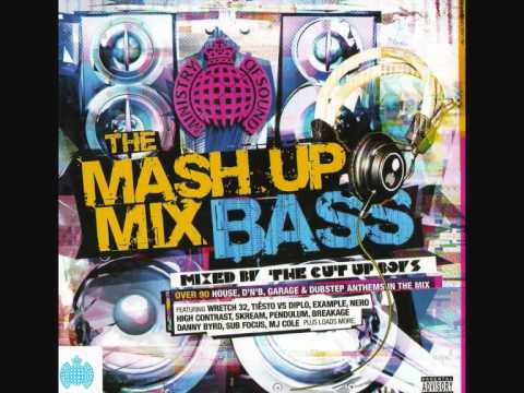 MOS - The Mash Up Mix Bass - In The Air (Blame Remix)& Watch The Sun Come Up [CD QUALITY]