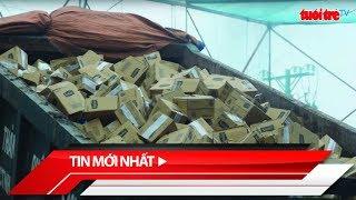 Tin mới nhất | TP.HCM: Tiêu hủy gần 50 tấn mỹ phẩm, thực phẩm nhập lậu