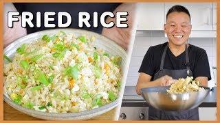 Kinesisk Fried Rice av en Äkta Kines (Min Pappa)