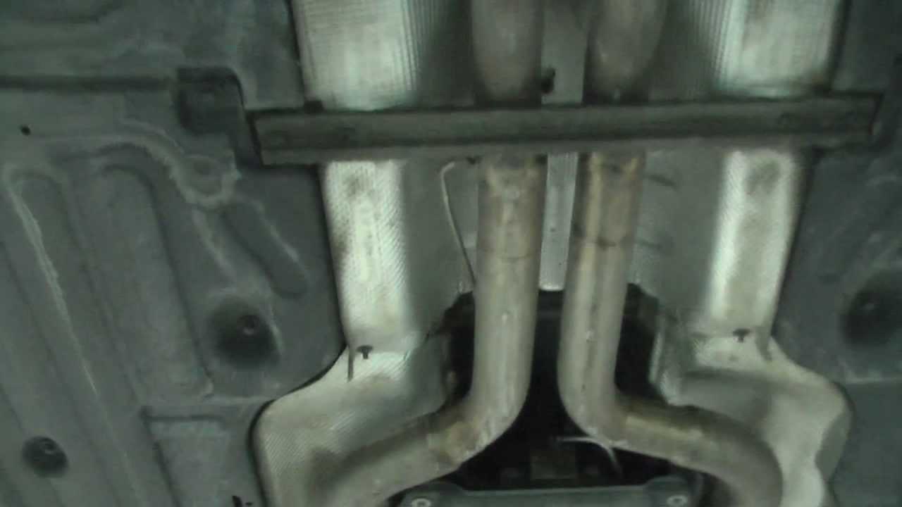 Mercedes E420 Cdi Tuned Closer View Of Straight Pipe