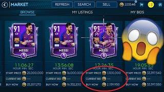 FIFA MOBILE 19 #3 JAK ZARABIAĆ MILIONY ? - SNAJP LEPIEJ NIŻ ZE ZŁOTEJ AWP !